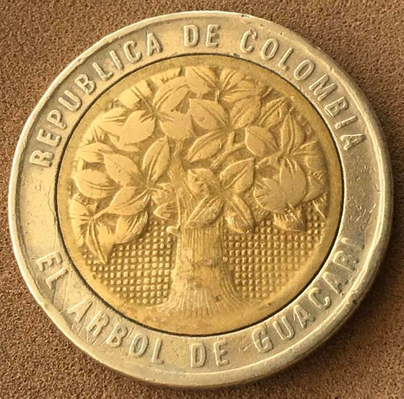 Colombia : Moneda Bimetalica 500 $ 1996