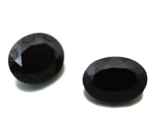 Oferta Par Onix Pedra Preciosa Natural Oval Facetada J21832
