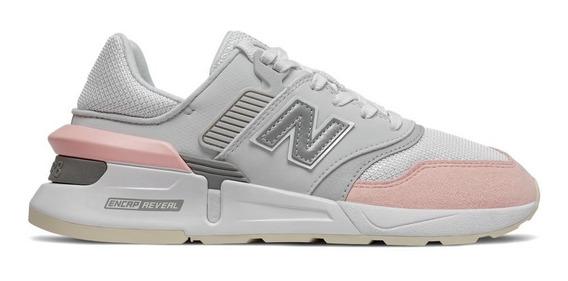 Zapatillas Mujer New Balance 997 Core Urbanas Blanco/rosa