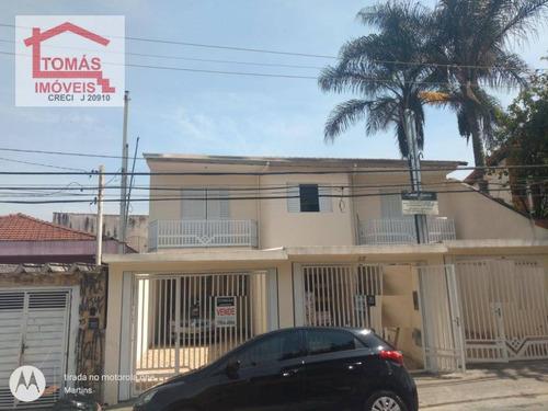 Imagem 1 de 13 de Sobrado Com 3 Dormitórios À Venda, 90 M² Por R$ 495.000 - Pirituba - São Paulo/sp - So1916