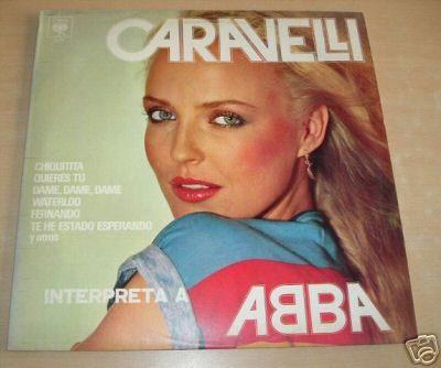 Caravelli Interpreta A Abba Vinilo Argentino Promo
