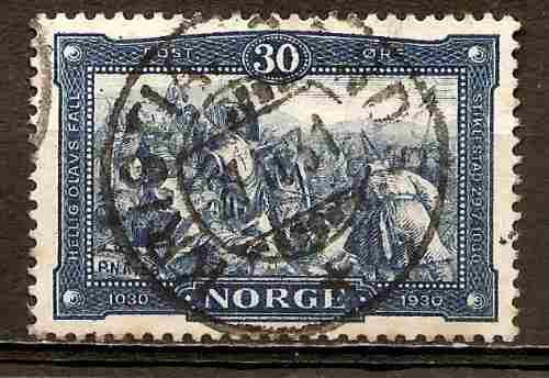 Noruega Estampilla Año 1930 Catalogo Yvert 150 Usada
