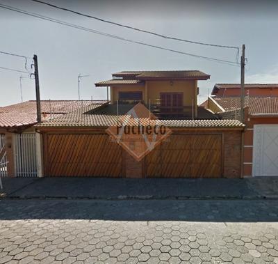 Sobrado No Jardim Santa Maria - Jacareí, 3 Dormitórios, 3 Vagas, 293m² - 2262