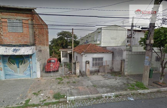 Terreno Residencial À Venda, Penha De França, São Paulo. - Te0264