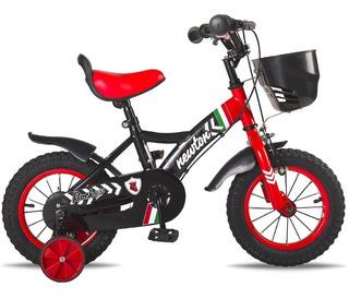 Bicicleta Rodado 12 Asiento Super Acolchado Niños Varones