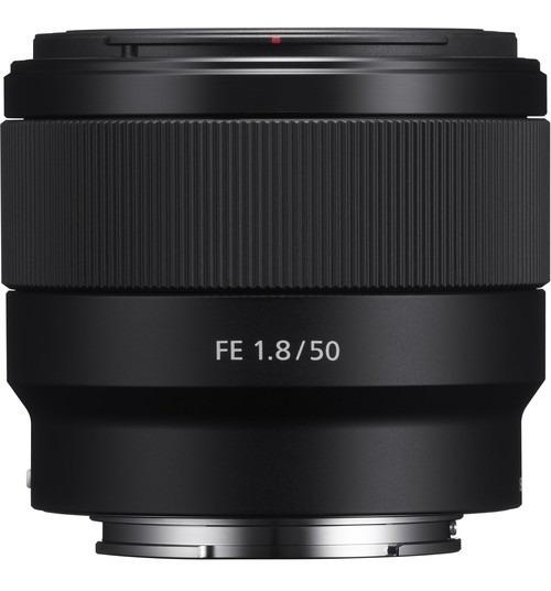 Lente Sony Fe 50mm F/1.8 E-mount Sel50f18f Br