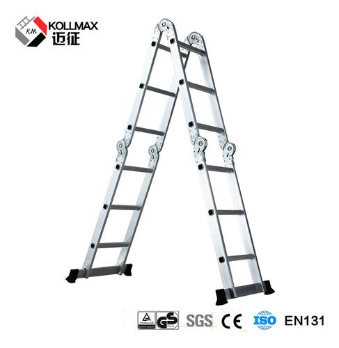 Escalera De Aluminio Multiusos Calidad Garantiz *soy Tienda*