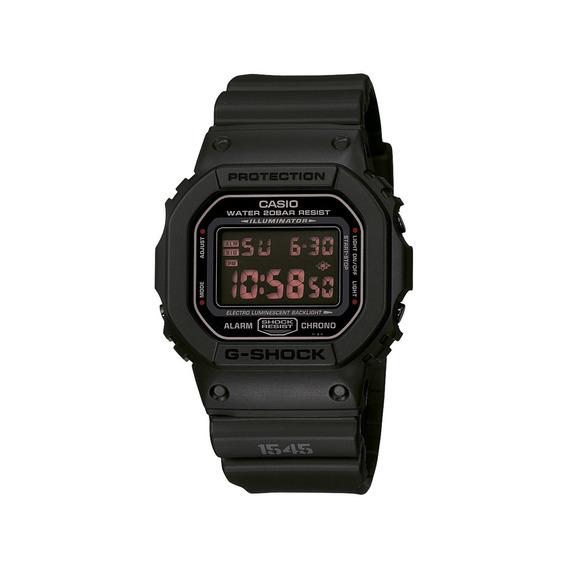 Relógio Masculino Casio Digital Dw5600ms1dr - Preto