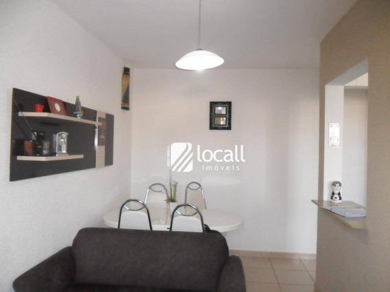 Apartamento Com 2 Dormitórios À Venda, 63 M² Por R$ 180.000 - Jardim Yolanda - São José Do Rio Preto/sp - Ap1879