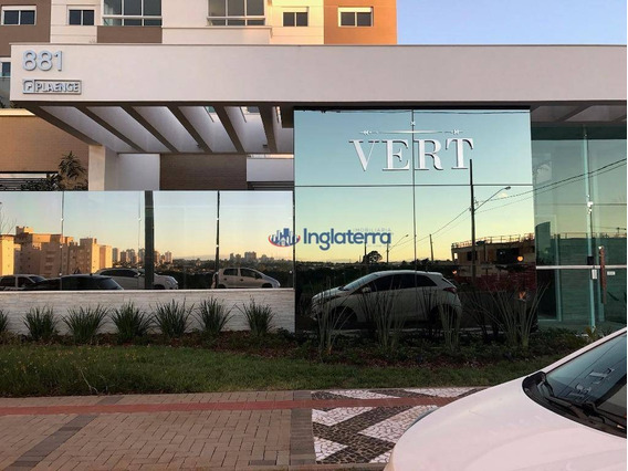 Apartamento Com 3 Dormitórios À Venda, 110 M² Por R$ 795.000 - Gleba Palhano - Londrina/pr - Ap0996
