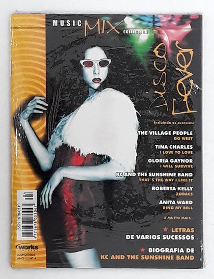 Revista Cd Music Mix Disco Fever Village People Tina Charles
