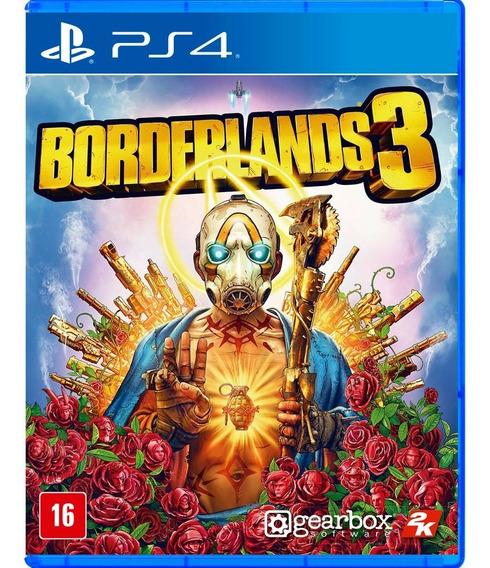 Borderlands 3 Ps4 Midia Fisica Lacrado Novo Com Nota Fiscal