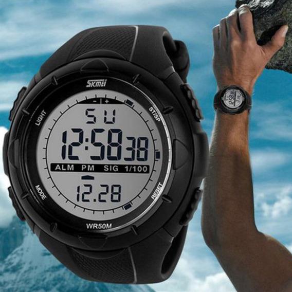 Relógio Esportivo Masculino Digital Skmei 1025a