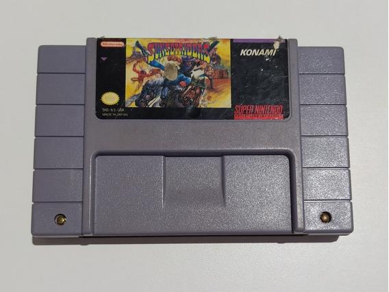 Sunset Riders Faroeste Super Nintendo Original Snes