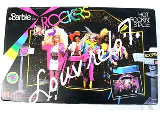 Barbie And The Rockers Escenario Camerino Vintage 80