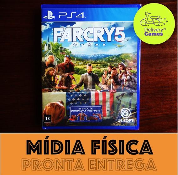 Far Cry 5 Edição Limitada Ps4 Midia Fisica Lacrado