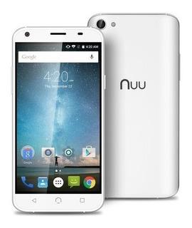 Smartphone X4 -16gb Tela 5 Hd 13mp 4g Branco Dual Sim Nuu