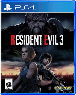 Juego Ps4 -- Resident Evil 3 Remake Para Ps4