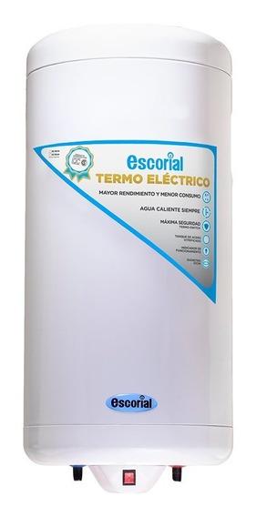 Termotanque Eléctrico 90l Escorial Conexión Inferior 69-268