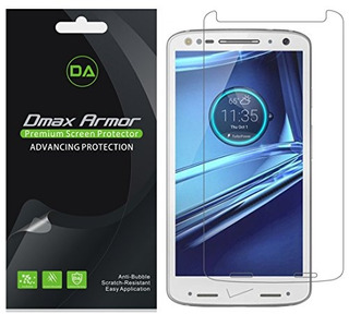 [paquete De 6] Dmax Armor Para Motorola Droid Turbo 2 Screen