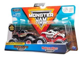 Monster Jam Pack De Dos Vehículos Surtidos