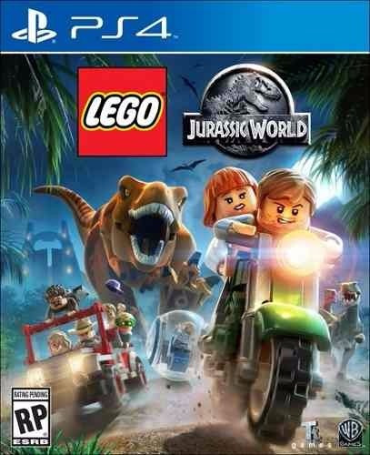 Lego Jurassic World 100% Em Português Mídia Física Ps4
