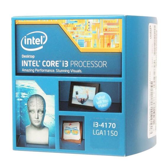 Kit Placa Mãe H81m-k + Core I3 4170 3.70 Ghz 8 Gigas Ddr3