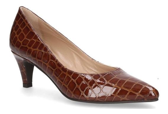 Zapato Mingo Mujer Camel - 4934