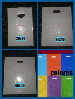 Bolsas Plasticas Tipo Boutique 15x23 20x30 - 30x40 - 40x50