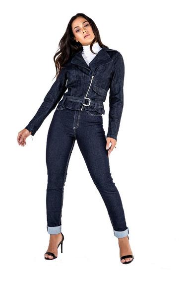 Jaqueta Jeans Feminina Perfecto