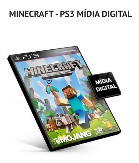 Minecraft +7 Jogos Brinde Para Ps3 Bloqueado