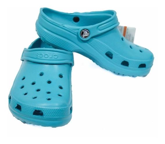 Crocs Classic Kids Turquesa Verde Agua