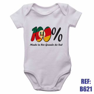Body Infantil 100% Made In Rio Grande Do Sul Personalizado