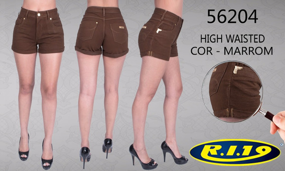 Shorts High Feminino Ri19 56204