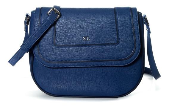 Bandolera Mujer Xl Extra Large Eugenia Azul
