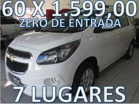 Chevrolet Spin 7 Lugares Zero De Entrada+60 X 1.599,00 Fixas