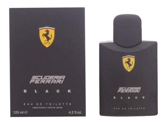 Perfume Ferrari Black 125ml Original Oferta+brinde