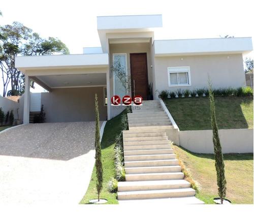 Casa Térrea Com 4 Suítes Condomínio Vila Lombarda Valinhos - Ca01723 - 33618498
