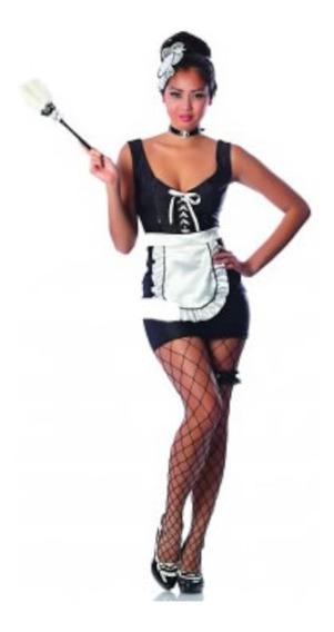 Disfraz Mucama Sexy Mujer Adulto - Halloween Premium M