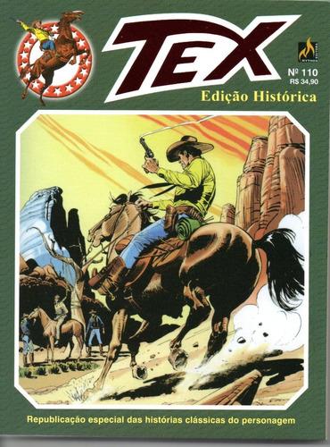 Tex Edicao Historica 110 C/card - Mythos Bonellihq Cx482 L19