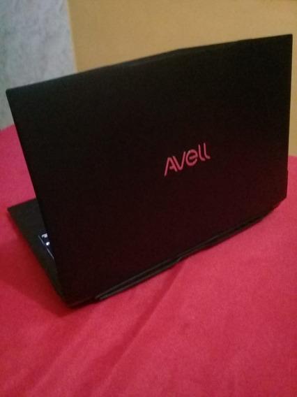 Notebook Avell - Titanium B155 Iron V4 (usado)