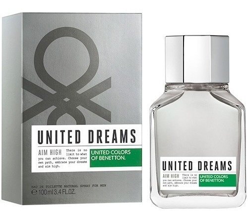 Perfume Benetton United Dreams Aim High 200ml + Amostra