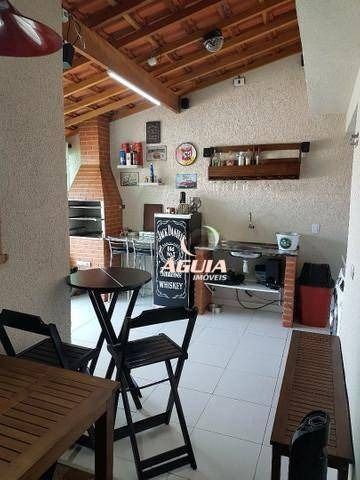 Cobertura Com 2 Dormitórios À Venda, 46m² + 46m² Por R$ 441.500 - Bangu - Santo André/sp - Co0957
