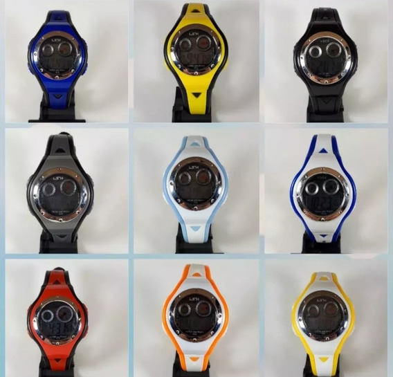 50 Relógios Para Criança Digital 50pçs Atacado Revenda 12x
