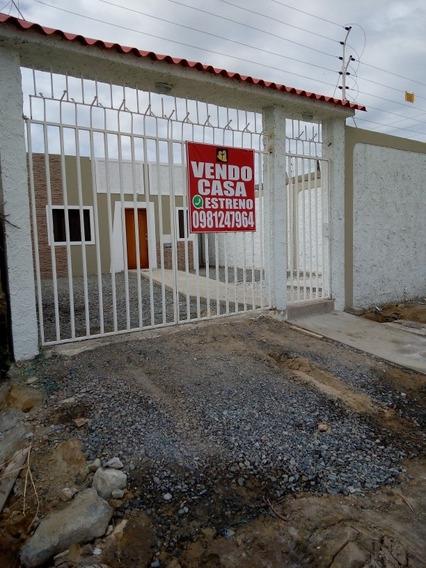 Casa En Salinas Sector La Milina 3dormitorio, 2 Baños