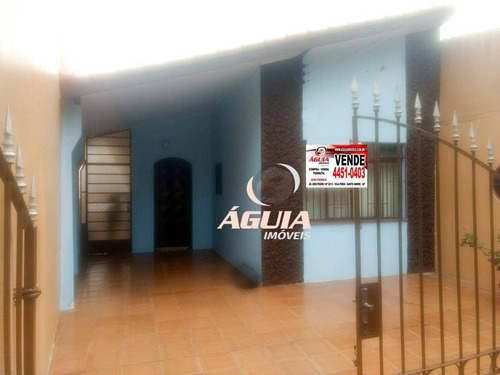 Imagem 1 de 10 de Casa Com 2 Dormitórios À Venda, 73 M² Por R$ 426.000,00 - Santa Maria - Santo André/sp - Ca0716