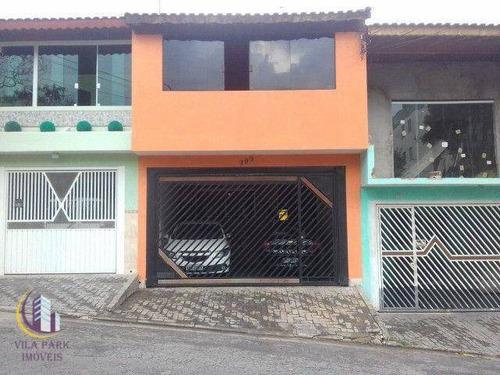 Imagem 1 de 20 de Sobrado Na Cidade Das Flores Osasco Sp - So0675