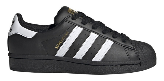 Zapatillas adidas Originals Moda Superstar J Ng/bl