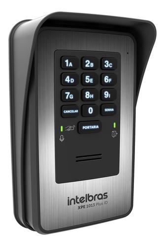 Porteiro Eletrônico Senha E Tag Xpe 1013 Plus Id Intelbras