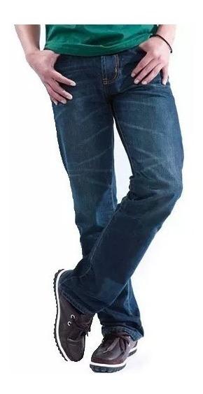 Pack X 2 Jeans Hombre Recto Corte Clasico Recto